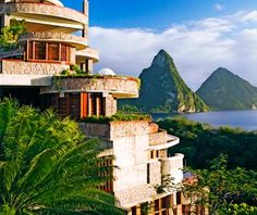 Jade Mountain in St. Lucia.