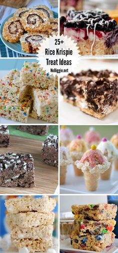 rice krispie treat ideas that are great for every day, for holidays and special occasions! Snacks To Make, Easy Snacks, Rice Crispy Treats, Krispie Treats, Rice Krispies, Rice Recipes For Dinner, Popcorn Recipes, Sweet Treats, Stuffed Peppers