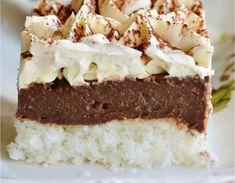 Kokosovo-čokoládové kocky – zákusok, ktorý nesklame