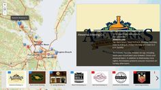 Check out this interactive map of breweries in Hampton Roads, Virginia.