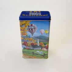 1994 Vintage Hersheys Kisses Tin from by MyForgottenTreasures, $10.00
