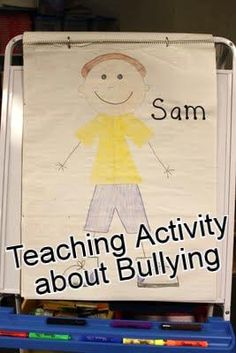 children talk about hurtful things Sam may hear others say about him, and each time they give him another crumbled wrinkle. Words to build up help, (child tries to smooth out wrinkles), but never completely erase hurts. Respectful words always.
