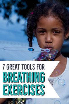 Want to teach kids controlled breathing exercises? Use these tools for fun, hands on activities that will make learning controlled breathing fun! Counseling Activities, Hands On Activities, Therapy Activities, Group Counseling, Therapy Ideas, Play Therapy, Anger Management Activities For Kids, Calming Activities, Mindfulness For Kids