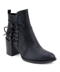 Take a look at this Black East Village Boot today!