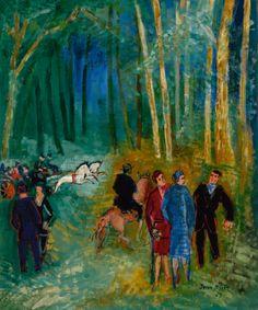 dufy, jean promenade au bois de ||| animals ||| sotheby's n09741lot9gg7yen