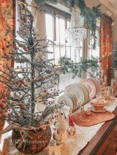 Cozy Pink Christmas - 2019 - My 1929 Charmer