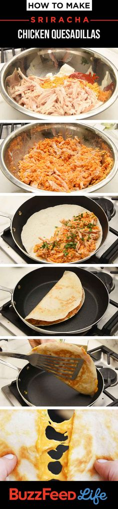 These Sriracha Quesadillas Will Make Everyone Love You Visit Sriracha Box Now!