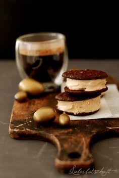 espresso ice cream sandwiches
