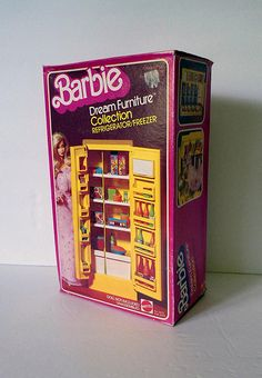Barbie Dream Furniture Collection Refrigerator/Freezer | Flickr - Photo Sharing!