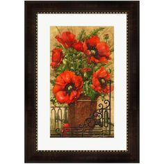 Metaverse Art Tuscan Bouquet II Framed Wall Art ($140) ❤ liked on Polyvore featuring home, home decor, wall art, multicolor, flower wall art, flower stem, flower home decor, floral wall art and framed flower wall art