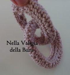 Nella valigia della Buru: Tutorial: come realizzare catene all'uncinetto - crochet free tutorial