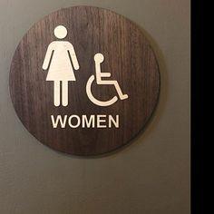 bares pubs hoteles Para Hombre Mujer Baños Divertidos Wc entrada señal para tiendas