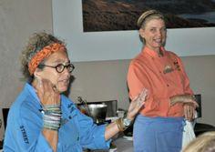 Mary Sue Milliken and Susan Feniger for the California Avocado Commission #evoconf #CA_Avocado