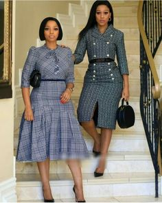 Office dresses Latest African Fashion Dresses, African Dresses For Women, African Print Dresses, African Attire, Women's Fashion Dresses, African Print Fashion, Classy Work Outfits, Classy Dress, Chic Outfits