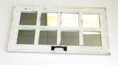 SALE 14 x 25 Barn Window Mirror (8 pane) on Etsy, $58.19