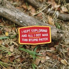I Kept Exploring Patch