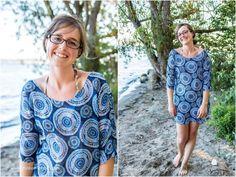 Strandkleid einfache Nähanleitung und kostenloses Schnittmuster