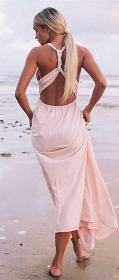 Cinammon twist gown