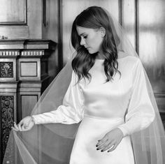 Sarah wearing a custom inspo simple Sarah Country Wedding Dresses, Modest Wedding, Princess Wedding Dresses, Boho Wedding Dress, Dream Wedding Dresses, Boho Dress, Bridal Dresses, Dress Vestidos, Wedding Looks