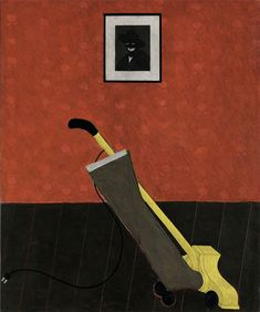 Portrait of the Artist and a Vacuum - Kerry James Marshall