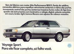 folder volkswagen voyage sport 1.993.1