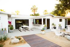 Our Modern Patio Makeover via A House in the Hills