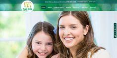 #sesamewebdesign #psds #dental #responsive #topnav #top-nav #fullwidth #full-width #green #yellow #sticky #parallax #texture #sans #circles