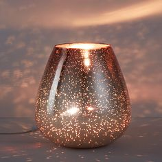 Buy John Lewis Nayna Colour Vessel Table Lamp, Metallic Bronze / Rose Online at johnlewis.com