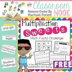 FREEBIE: Multiplication Sweets