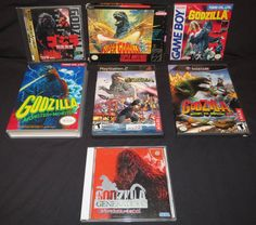 Godzilla Video Games Collection by Malidicus on DeviantArt