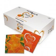 Prezerwatywy MoreAmore Tasty Skin - o zapachu Mandarynki - 100 szt.