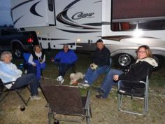 Our RV traveling group - the Pacific Coast adventure