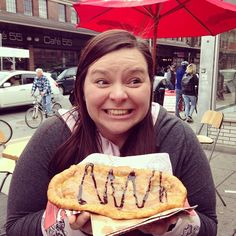 This photo is too cute! BeaverTails pastries make us feel the same way :) via Jessica Symes (@jdsymes) on Instagram