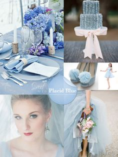 spring 2014 wedding colors - placid blue wedding ideas