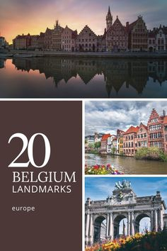 20 Famous Landmarks in Belgium. The forest's nickname comes from the carpet of bluebells that covers the forest floor in April. While the current prediction for the blooms is mid-April, they have flowered as late as May and as early as March. #europe #travel #belgium #landmarks #history Top Travel Destinations, Europe Travel Tips, Travel Guides, Famous Monuments, Famous Landmarks, Travel Belgium, Forest Floor, Santorini, Big Ben