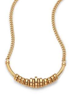 CHLOÉ Freja Long Necklace. #chloé #necklace