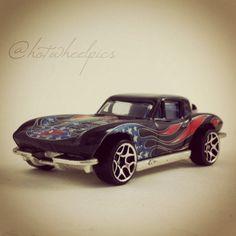 "Happy July 4th! '63 Corvette - 2004 Hot Wheels ""Star Spangled 2"" series #hotwheels   #toys   #Corvette   #july4th"