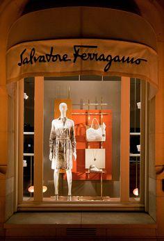 6339eebc5a1d9 Salvatore Ferragamo SS window 2015, Paris, Lo Studio design  www.lostudiodesig.. Diseño Interior De TiendaInteriores ...