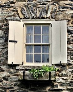 Window at Valkill, Eleanor Roosevelt Historic Site Hyde Park, NY.