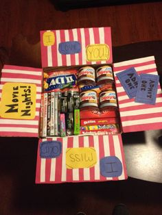 Movie themed military care package