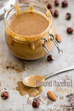 Way Too Good Vanilla Almond Hazelnut Butter Recipe — Dishmaps