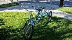 Worksman tandem tricycle