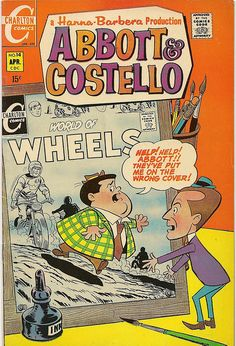 Abbott & Costello #14 Charlton Comics | Flickr - Photo Sharing!