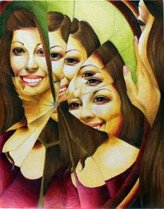 Anneka22's art on Artsonia - maybe try as a Photoshop self portrait project