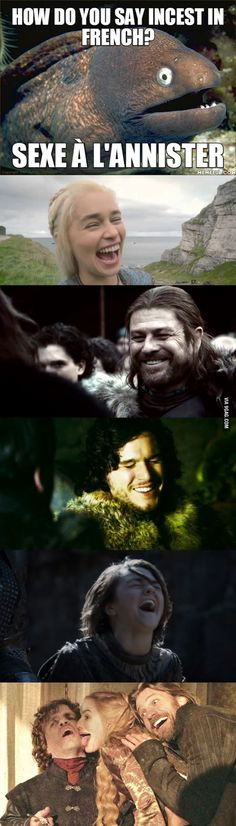 It's an old French expression. - 9GAG