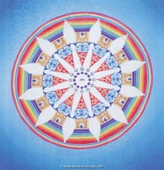Chakra Wheel Mandala