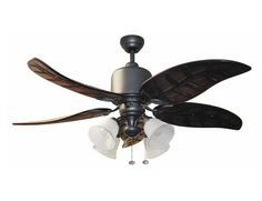 Harbor Breeze Ceiling Fans | Harbor Breeze 52 In Tahoe Iron Ceiling Fan