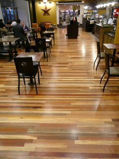 My awesome multi colored hardwood floor  Loving how it turned out     TerraMai s World Mix Blend comes from exotic hardwoods combined to create a  vibrant and eclectic floor  These precious exotic hardwoods  much of which