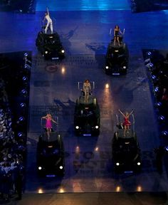 The Spice Girls perform during the London Olympic Games 2012 Closing Ceremony at the Olympic Stadium, London. RESS ASSOCIATION Photo. Picture date: Sunday August 12, 2012. See PA story Olympics . Photo credit should read: David Davies PA Wire. EDITORIAL USE ONLY (© PA Wire Press Association Images)