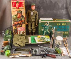 Vintage 1964 Hasbro Gi Joe # 7500 Action Soldier Tall Brown BOOTS for sale online Vintage Toys 1960s, Vintage Ads, Gi Joe Doll, Modern Toys, Happy 50th Birthday, Farm Toys, Military Diorama, Toy Soldiers, Childhood Memories